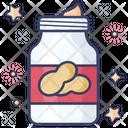 Peanut Butter Peanut Jar Peanut Jam Icon