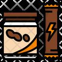 Food Energy Bar Icon