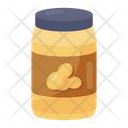 Peanut Jam Jam Jar Jelly Spread Icon