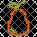 Pear Fruit Autumn Icon