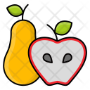 Pear Appel Fruit Icon