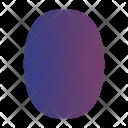 Pear Diamond Bubble Icon