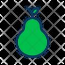 Pear Fruit Organic Icon