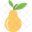 Pear Fruit Agriculture Icon