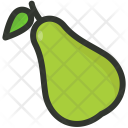 Pear Fruit Tropical Icon