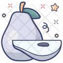 Pear Tropical Fruit Diet Food Icon
