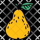 Pear Fruit Healthy Icon