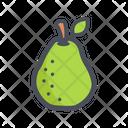Pear Juicy Healthy Icon