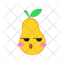 Pear Serious Fruit Icon