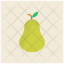 Pear Green Fruit Icon