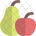 Pear And Apple Icon