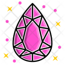 Pear Diamond Icon