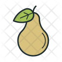 Pear Fruit Calories Icon