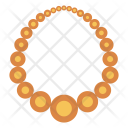 Pearl Necklace Locket Icon