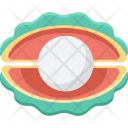Pearl Shell Seashell Icon