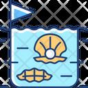 Fishing Pearl Farming Icon