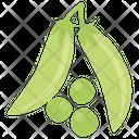 Peas Green Peas Vegetable Icon