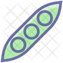 Peas Bean Vegetables Icon