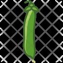 Peas Husk Vegetable Icon