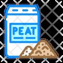 Peat Bag Peat Production Icon