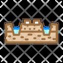 Peat Production Mining Production Peat Icon