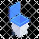 Dustbin Wastebin Delete Icon