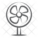 Pedestal Fan Circulate Air Fan Icon