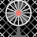 Pedestal Fan Charging Icon