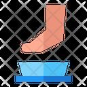 Pedicure Healtcare Cleaning Icon