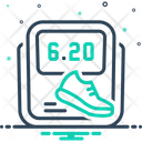 Pedometer Icon