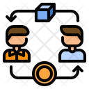 Peer To Peer Icon