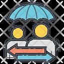 Peer To Peer Insurance Icon