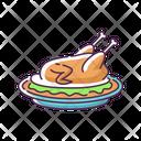 Pekin Duck Thanksgiving Icon