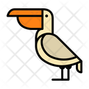 Pelican Bird Ocean Bird Icon