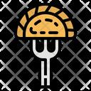 Pelmeni Russian Food Icon