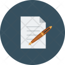 Pen Business Paper Icon