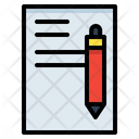 Pen Letter Write Icon