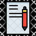 Pen Letter Write Icon
