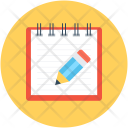 Pen Notepad Signature Icon