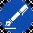 Pen Calligraphy Pen Calligraphy Icon