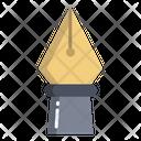 Pen Nib Fountain Pen Icon
