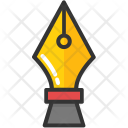 Pen Write Nib Icon