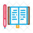 Pen Notebook Pencilbusiness Icon