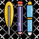 Pen Pencil Feather Pen Pencil Icon