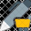 Pen Shopping Icon