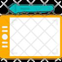 Graphic Design Creative Pen Tablet Icon