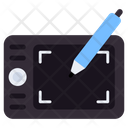Pen Tablet Wacom Draw Tablet Icon
