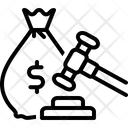 Penalty Amercement Chastisement Icon