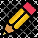 Pencil Lead Crayon Icon