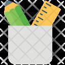 Pencil Case Stationery Icon